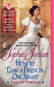 sophie jordan's how to lose a bride in one night